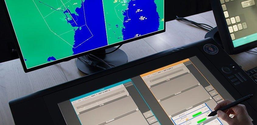 Control de tráfico aéreo de Saab (Imagen: Imagen: Copyright Saab AB - Stefan Kalm)