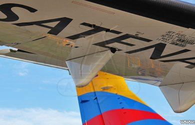 Avión de Satena