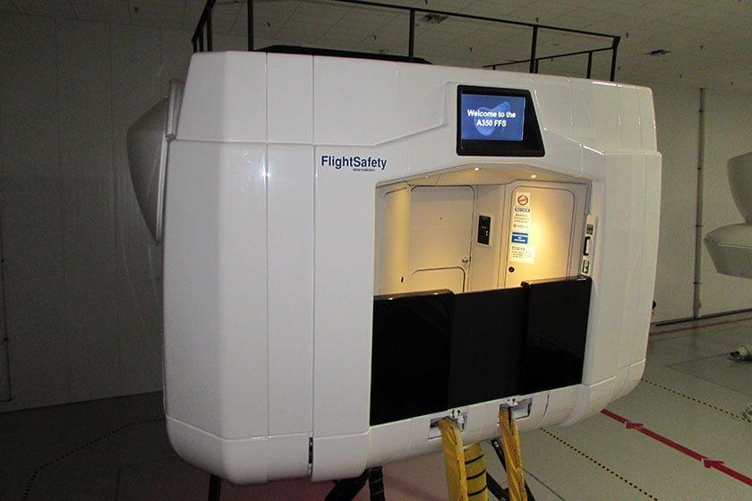 Simulador de Airbus A350