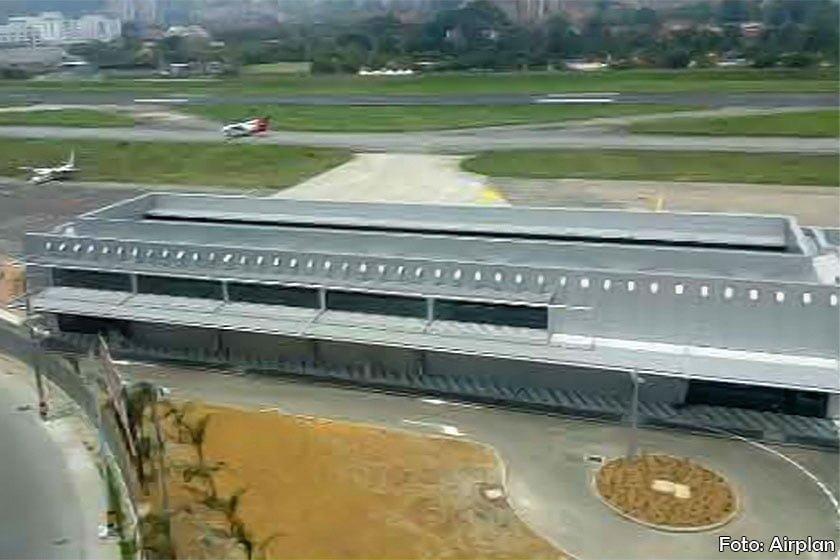 Terminal ejecutiva del aeropuerto de Medellín