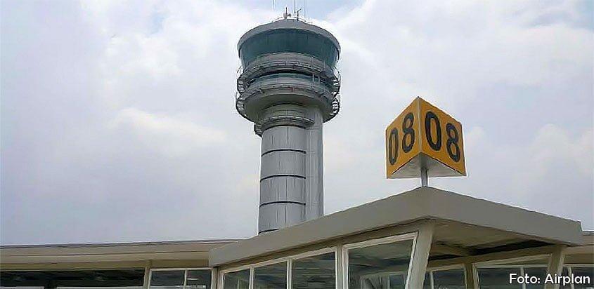 Nueva torre de control del aeropuerto de Medellín