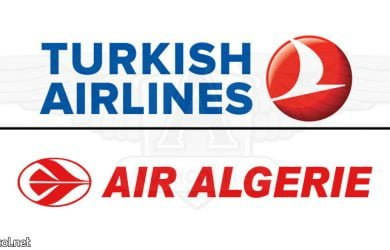 Turkish airlines y Air Algérie