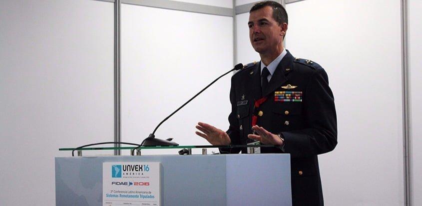 Coronel César Felipe León Giraldo - Foto: FAC