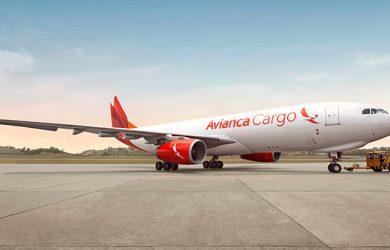 Push-back Airbus A330F de Avianca Cargo