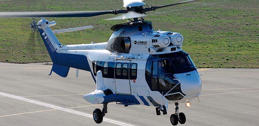 Helicóptero H215 de Airbus Helicopters