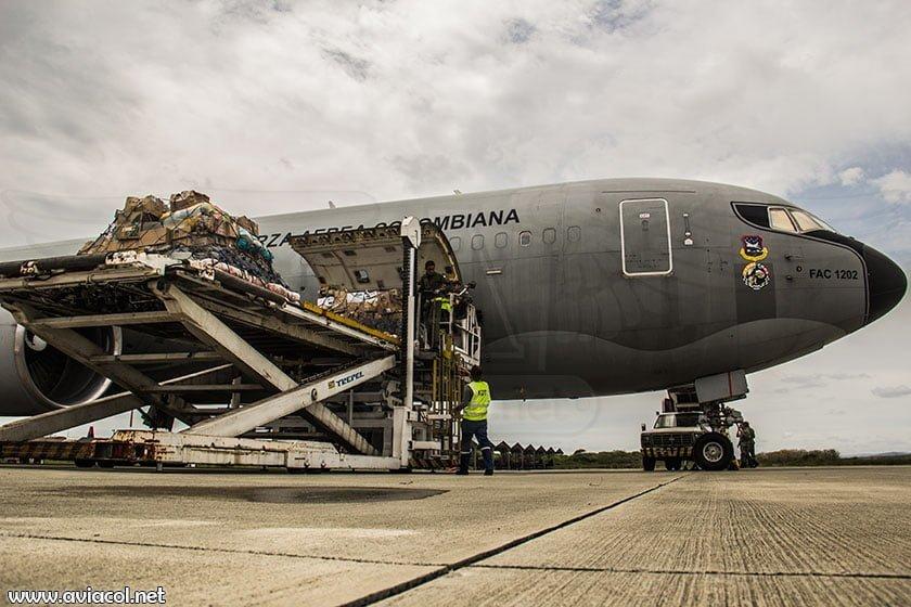 Boeing KC-767 de la FAC en Manta, Ecuador