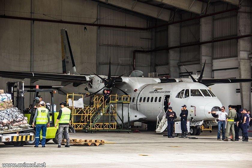 Hangar de la Fuerza Aérea Ecuatoriana