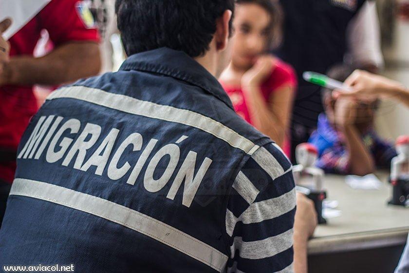 Documentación de repatriados colombianos