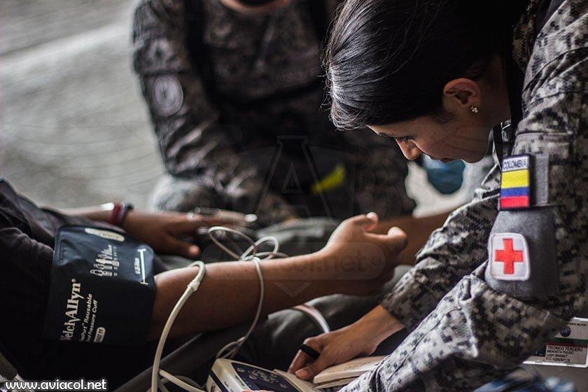Médicos de la Fuerza Aérea Colombiana