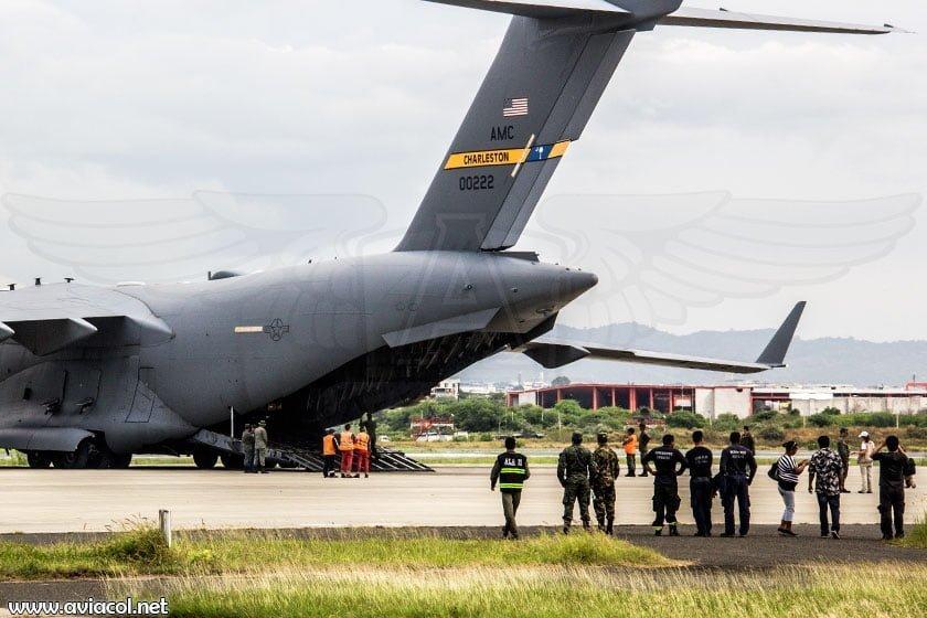 Boeing C-17 de la USAF