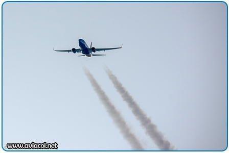 Aeronave en Vuelo - Boeing 737