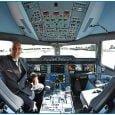 Piloto de Airbus en Cabina - Avion A350XWB - Bogotá