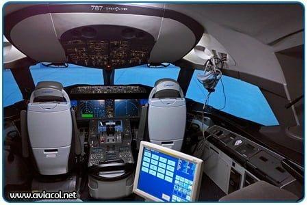 Simulador de Vuelo - Avión Boeing 787 Dreamliner