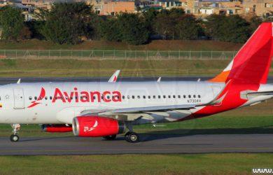 Aibus A319 de Avianca
