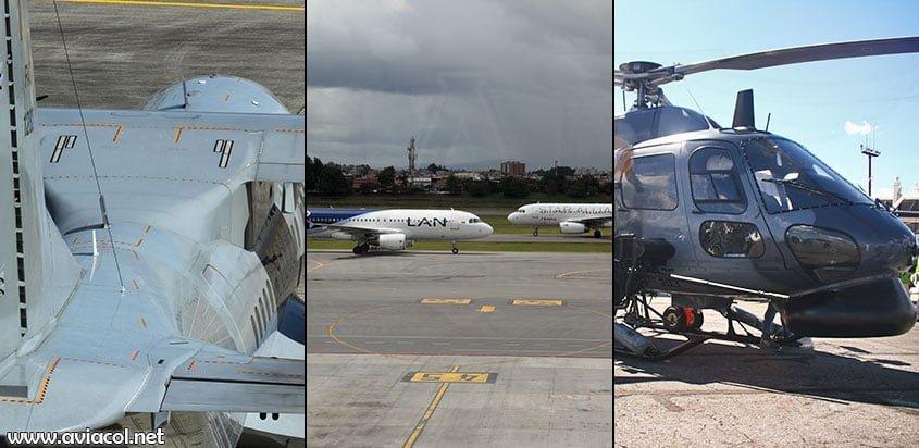 Aeronaves de Airbus en Colombia