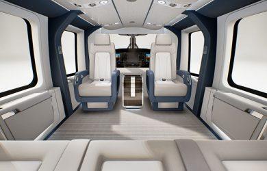 Diseño del interior del Airbus H160