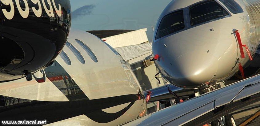 Aviones de Embraer