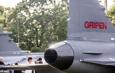 Aviones Saab Gripen