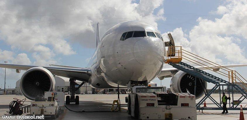 Boeing 777F de LATAM Cargo