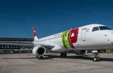 Embraer 190 de TAP Express