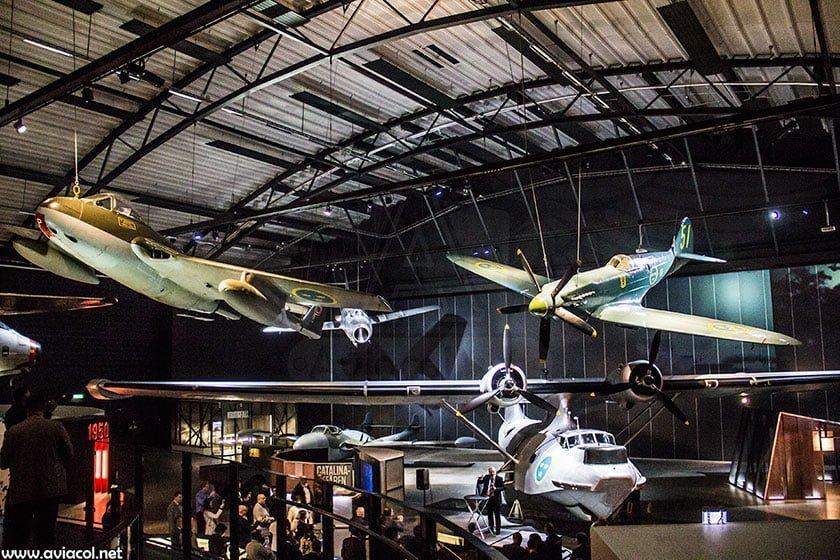 Museo Fuerza Aérea Sueca