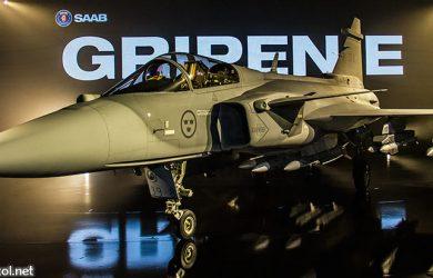 Nuevo avión Saab Gripen E