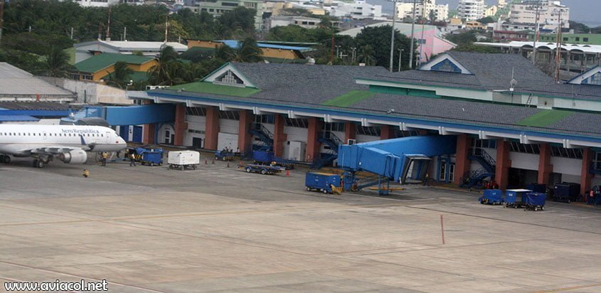 Aeropuerto de la isla de San Andrés