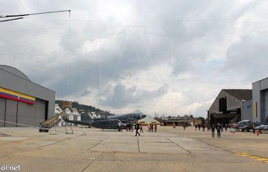 Feria aeronáutica en CAMAN