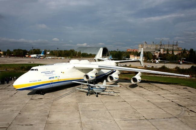 Así luce hoy en día el único Antonov An-225 aeronavegable