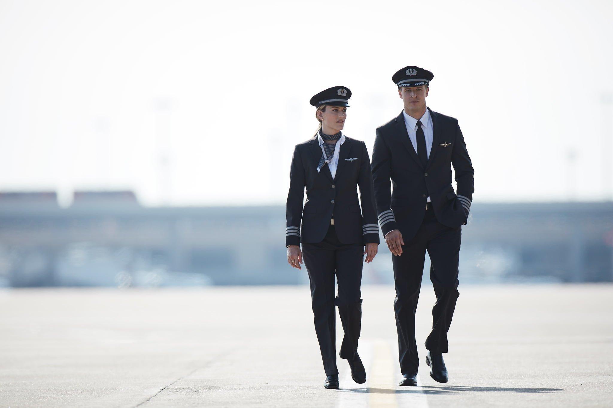 Uniforme de Pilotos de American Airlines