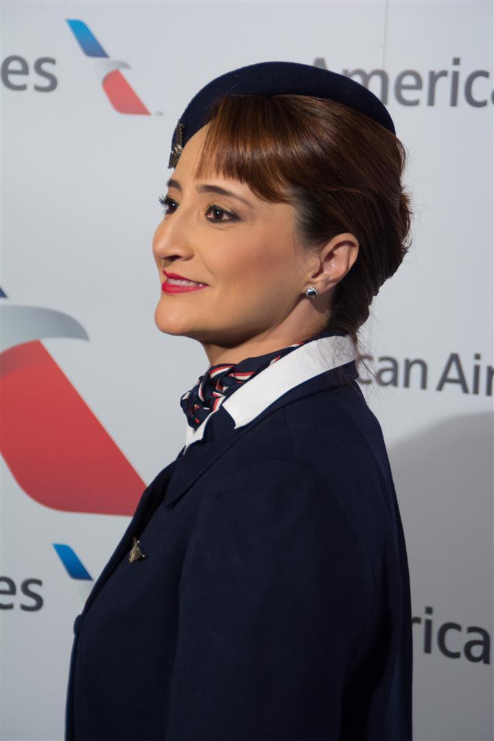 Uniforme Auxiliar de Vuelo de American Airlines