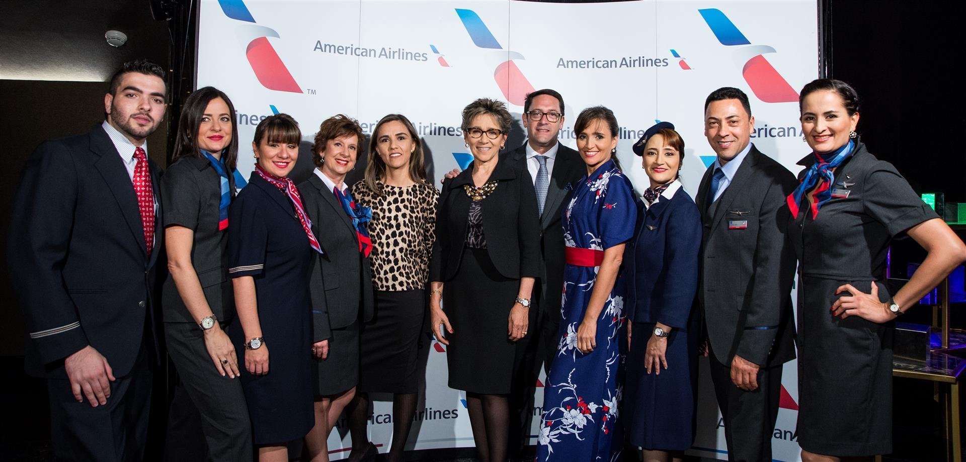 Nuevos Uniformes de American Airlines.