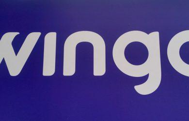 Logo de Wingo: nueva aerolínea de bajo costo de Colombia.