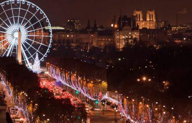 París es uno de los destinos elegidos por Air France y KLM para celebrar el Fin de año.