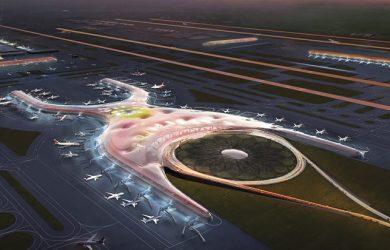 Nuevo Aeropuerto Internacional de la Ciudad de México.