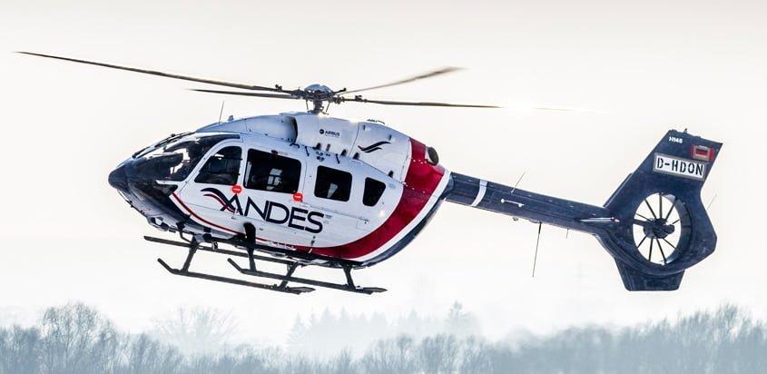 Primer Airbus H145 de Servicios Aéreos de los Andes.