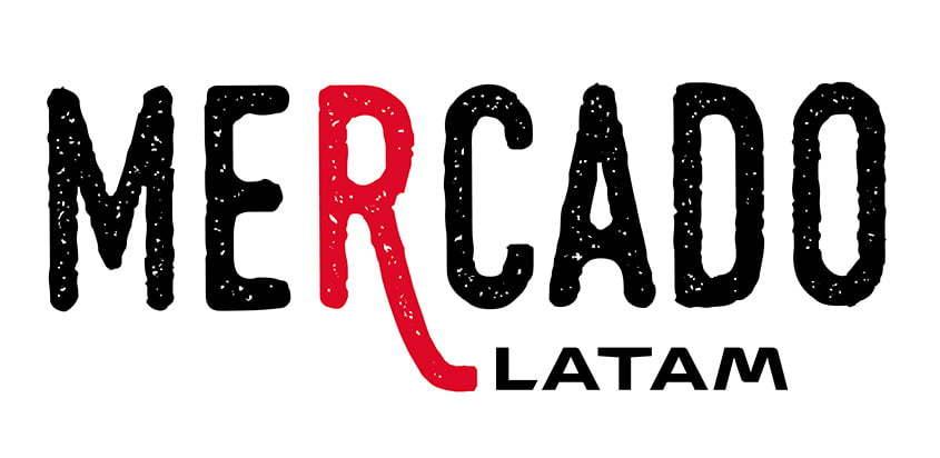 Logo de Mercado LATAM, nuevo servicio de LATAM Airlines.