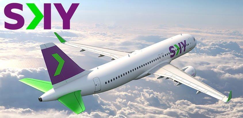 Nueva imagen de Sky Airline.