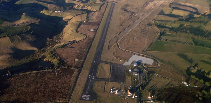 Foto Aérea del Aeropuerto San Luis de Ipiales, Nariño.