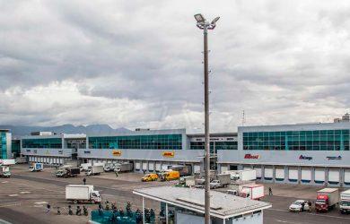 Terminal de Carga del Aeropuerto Internacional Eldorado de Bogotá.