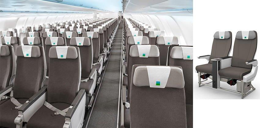 Configuración de sillas en la aerolínea de bajo costo LEVEL.