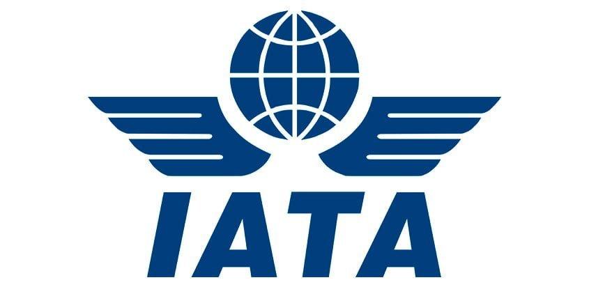 Logo de IATA.