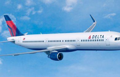Airbus A321 de Delta Air Lines.