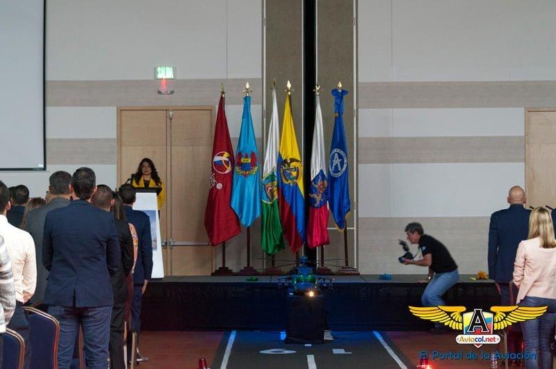 Evento de inauguración F-AIR 2017 en Rionegro, Antioquia.