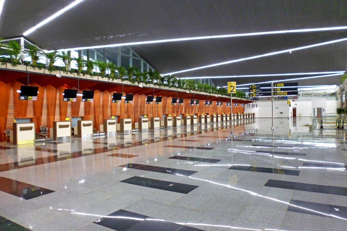 Nueva Terminal Internacional del Aeropuerto Alfonso Bonilla Aragón de Cali.