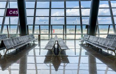 Aeropuertos con mobiliario fabricado por Actiu.