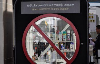 Aeropuerto El Dorado - Artículos prohibidos en el Equipaje de Mano.