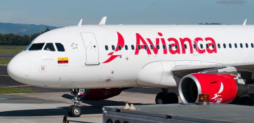 Airbus A319 de Avianca.