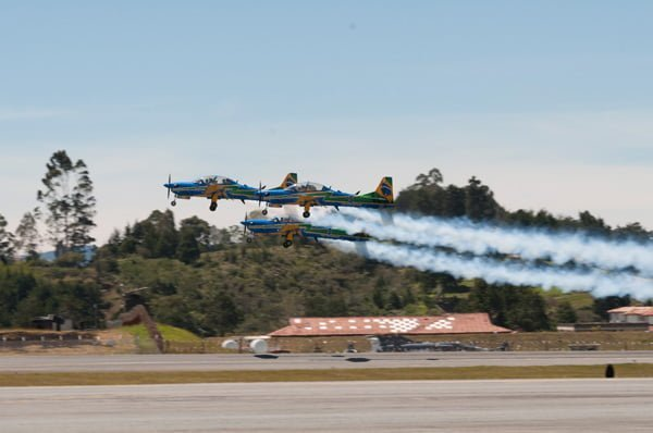 Primer día de F-AIR Colombia 2017.