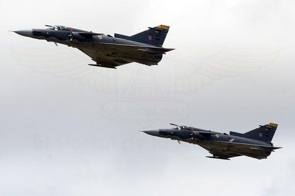 Demostración de capacidades de la Fuerza Aérea Colombiana (FAC) en F-AIR 2017.